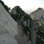 "Mountain Hiking ""Chinese Style"" on Huashan Mountain"